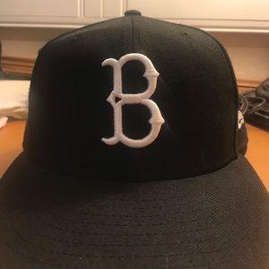 Black Brooklyn dodgers hat